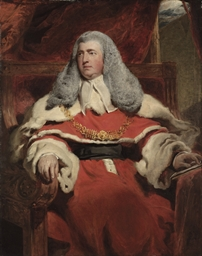 Portrait of Edward Law, 1st Ba