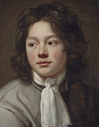 Portrait of a boy, bust-length