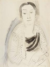 Portrait de Mme Raoul Dufy