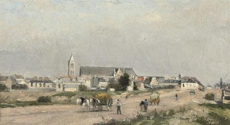 Vue d'un village