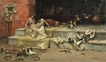 Las Damas Romanas (Roman Maide