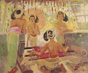Metier á Tisser (Balinese Weav