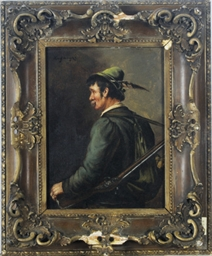 Portrait of a hunter