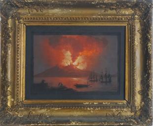 Watching the eruption of Vesuv