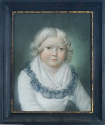 Portait of a young child in a