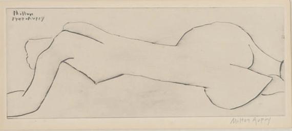 Reclining nude (Lunn 29)