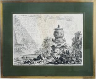 Veduta dell'Arco di Tito; and