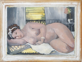 A reclining nude