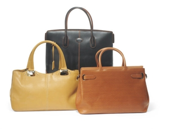 ASPREY AND J.P. TOD'S LEATHER