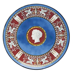 A PARIS BLUE-GROUND CHARGER PR