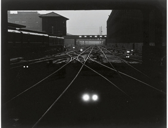 A night view of trains; togeth