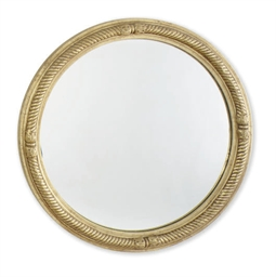 A PAIR OF GILTWOOD CIRCULAR CO