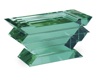 A GLASS STOOL,