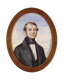 A young gentleman, in grey coa