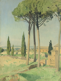 The Campagna, by the Appian Way