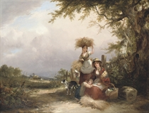 The gleaners, Shirley, Hampshire