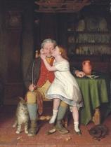Kissing Grandpa