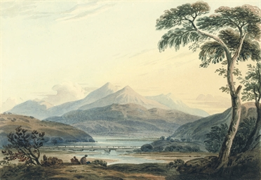 A view of Snowdon from Capel C