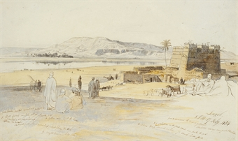Egyptian Sketches - Edward Lear