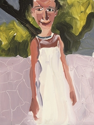 Untitled (Girl in White Dress