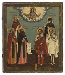 CHRIST PANTOKRATOR WITH THE MO