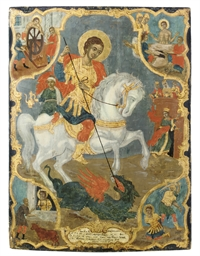A VITA ICON OF ST. GEORGE