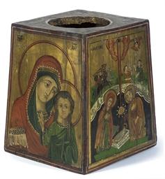AN ECCLESIASTICAL BOX