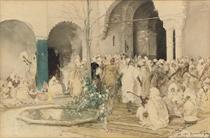 The Mosque at Tlemcen, Algeria