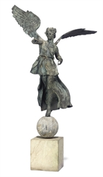 AN ITALIAN BRONZE FIGURE OF VI