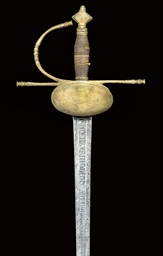 A SPANISH OFFICER'S BROADSWORD