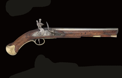 A FLINTLOCK LONG SEA SERVICE P