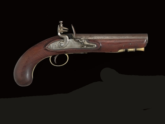 A FLINTLOCK VOLUNTEER OR LIVER