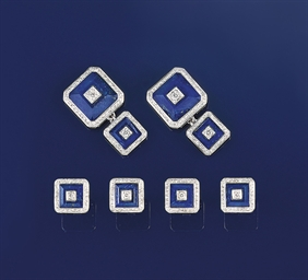 A lapiz lazuli and diamond dre