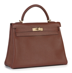 A ROUGE BRIQUE TOGO KELLY BAG