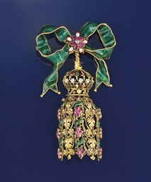 A mid 19th century gold, diamo