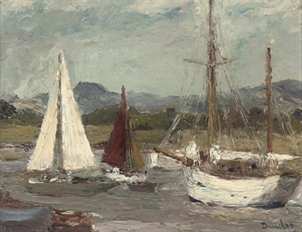 Boats at Itchenor, near Chiche