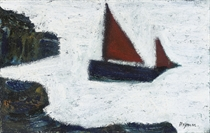 French Fishing Boat off the Cornish Coast