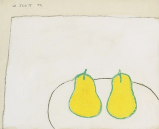 Study for a Painting, Pears