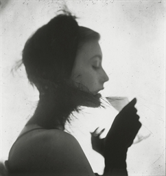 Girl Drinking (Mary Jane Russe