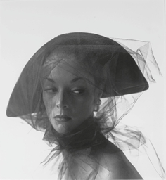 Girl in Veiled Hat (Jean Patch