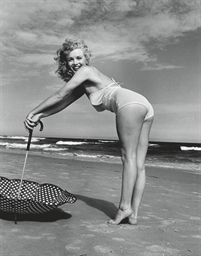 Marilyn Monroe, Tobey Beach, 1