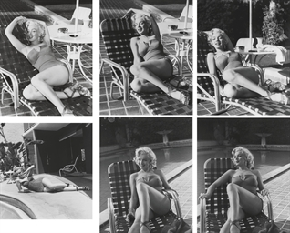 Marilyn Monroe in swimsuit by