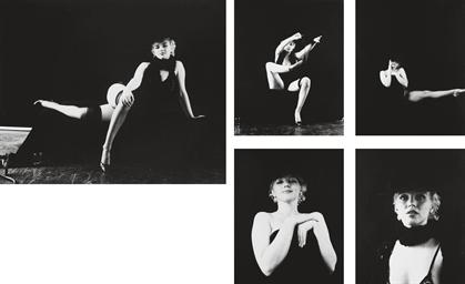 Marilyn, Black Sitting, 1960
