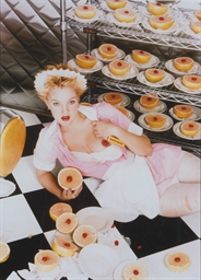 Drew Barrymore, New York, 1995