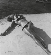 First Bikini, Harper's Bazaar, Montego Bay, Jamaica, 1945