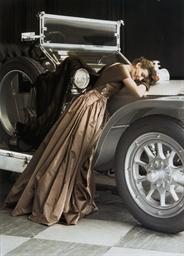 Wenda over the Rolls, 1951