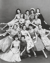 Ford Models, circa 1950