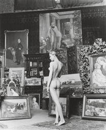 Kitsch Nude, Paris, 1956