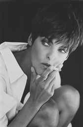 Linda Evangelista, April 1992