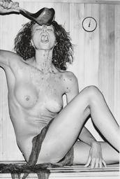 Nude in Sauna, 1975